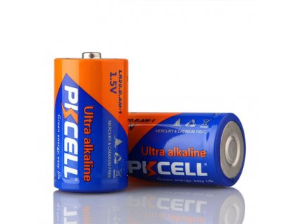 Alkalická PK CELL baterie LR20 D - (1,5V) - 1ks