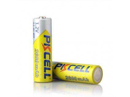 Nabíjecí AA 2600mAh Ni-Mh (1,2V) PK CELL baterie