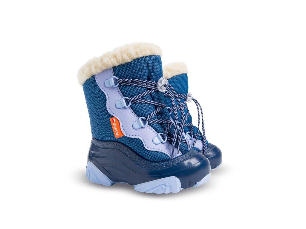 chlapecke zimni snehule demar snowmar 4017 nc modra