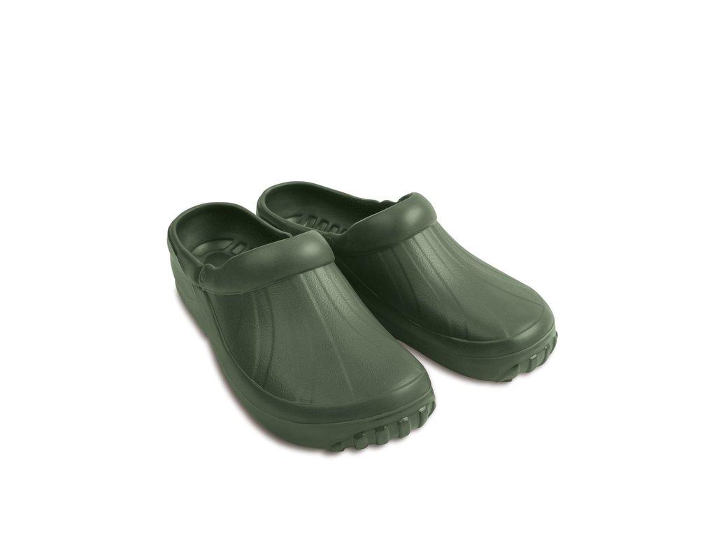 panske pantofle demar new eva clog 4842 zelena