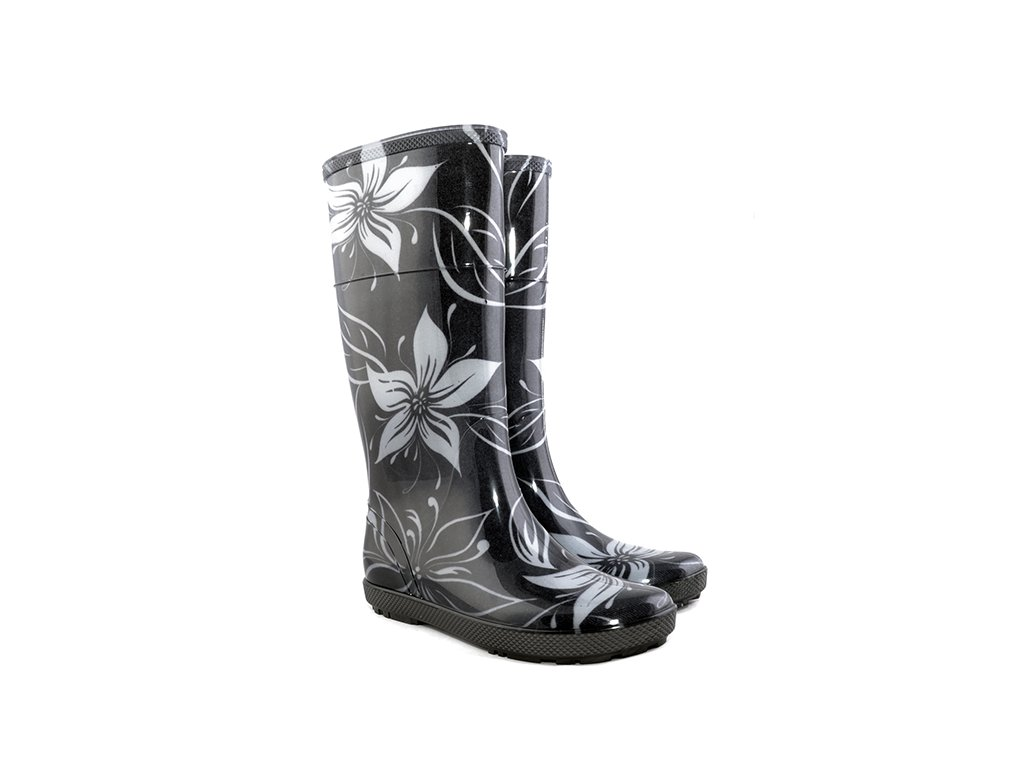 damske-barevne-holinky-demar-hawai-lady-exclusive-0077-ec-bily-kvet