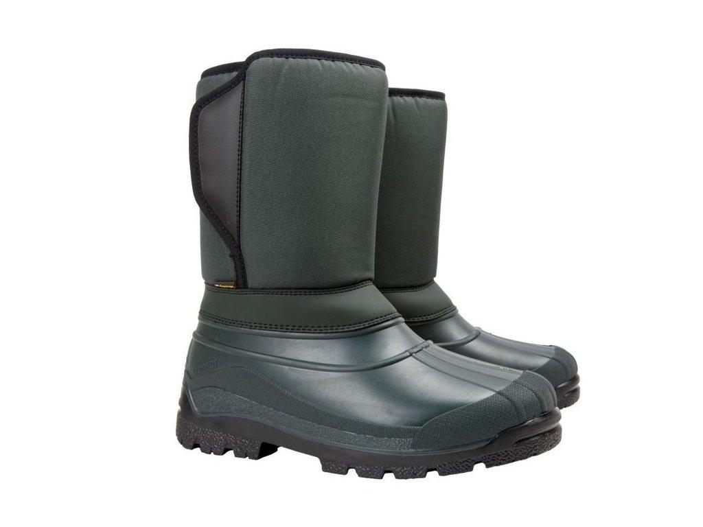 panska zimni obuv demar worker x 3819 zelena