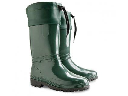 damske stahovaci holinky demar rainny s 0051 b zelena