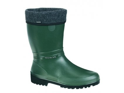 damske zateplene holinky demar rainny lux 0506 b zelena