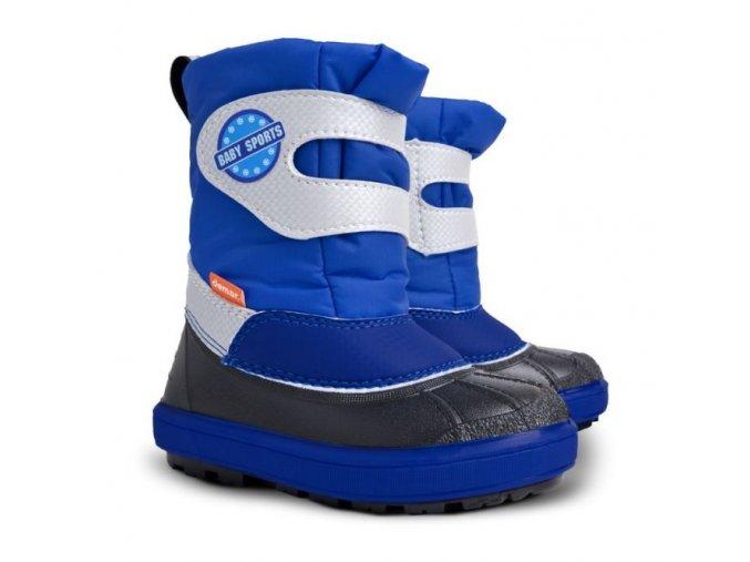 chlapecke zimni snehule demar baby sports 1506 b modra