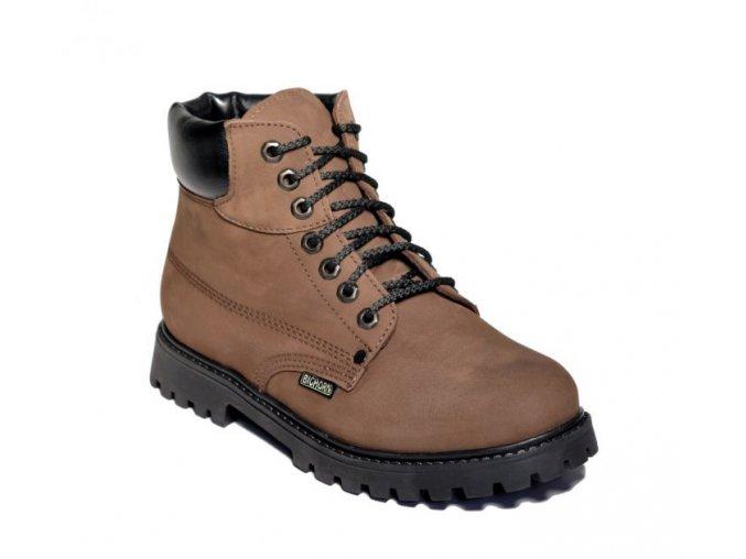 panska vychazkova obuv bighorn yukon 0510 hneda