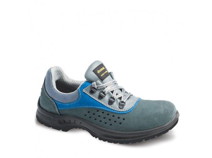 Dámská pracovní obuv Demar EXO L OB E FO SRC 7600 šedá-modrá (Velikost 36)
