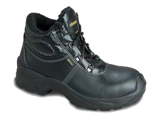 Dámská pracovní kotníková obuv Demar 7023 O2 CI 6595 černá - VÝPRODEJ (Velikost 37)