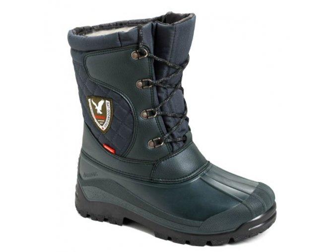 myslivecka zimni obuv demar logan 3815 zelena