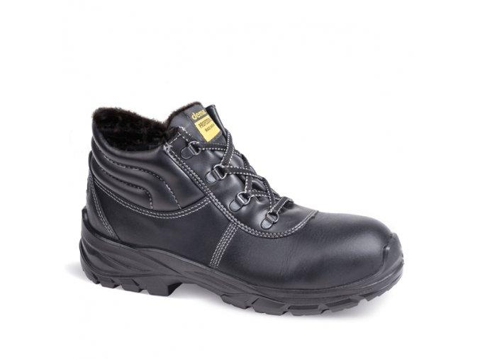 Zimní dámská pracovní obuv Demar GLOSS UP 2 L WINTER S3 SRC 7355 černá