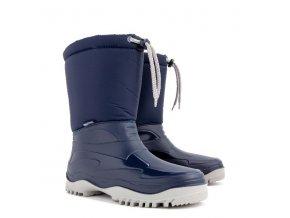 damske zimni snehule demar pico m 0368 modra