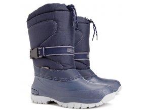 damske zimni snehule demar cross 1416 b modra