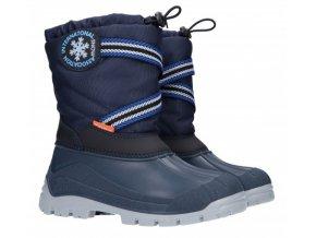 Dětské zimní sněhule Demar SNOW LAKE 1314 B modrá
