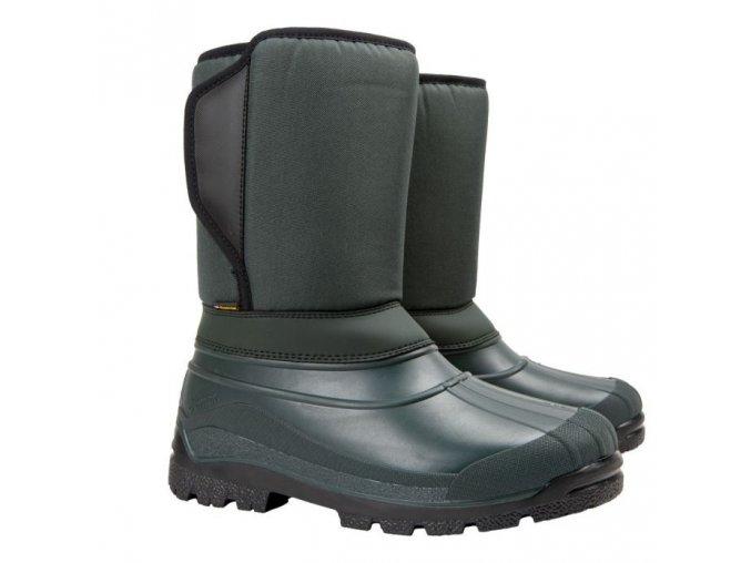 panska zimna obuv demar worker x 3819 zelena