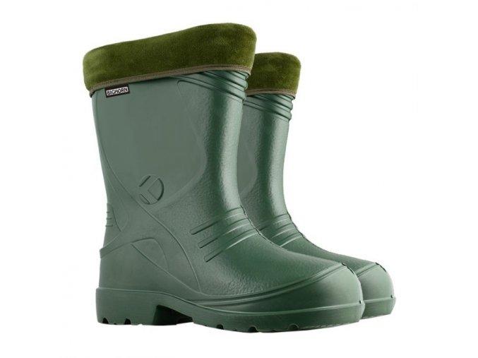 polovnicke zateplene gumaky bighorn liard 0934 zelene