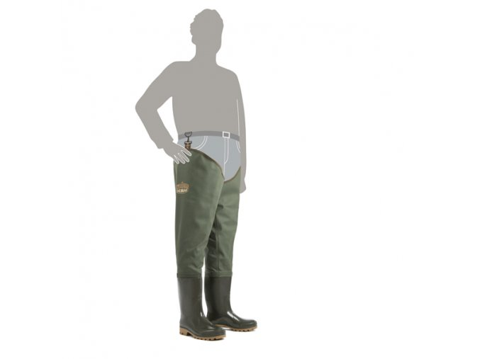 brodaky demar grand waders 3190 zelene