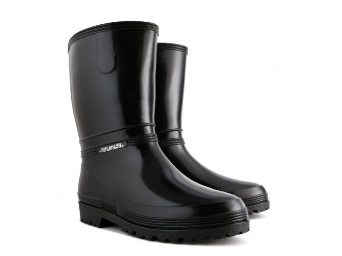 damske pracovne gumaky demar rainny black 0052 cierne