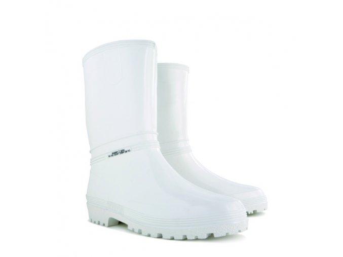 damske pracovne gumaky demar rainny z 3050 biele
