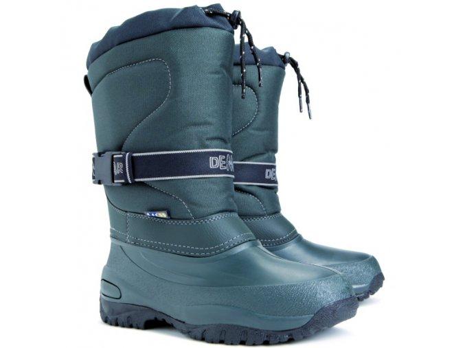 DEMAR Damska zimni obuv CROSS zelena