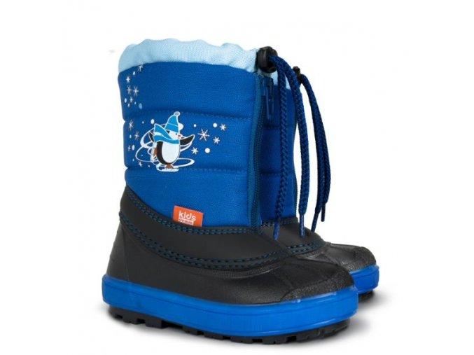 demar detska zimna obuv kenny 1502 na modra