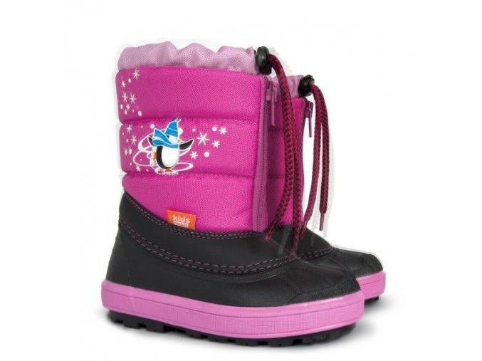 detska zimna obuv demar kenny 1502 nb ruzova