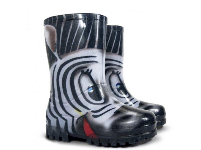 detske farebne gumaky demar twister print 0036 0037 s zebra