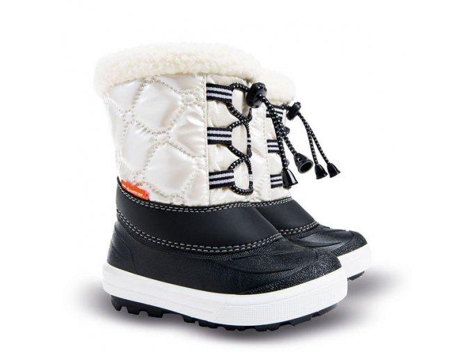 detske zimne snehule demar furry 2 1500 c biela