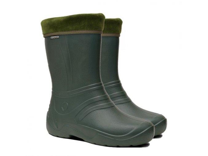 damske zateplene gumaky bighorn albany 1133 zelene