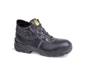 Zimná dámska pracovná obuv Demar GLOSS UP 2 L WINTER S3 SRC 7355 čierna