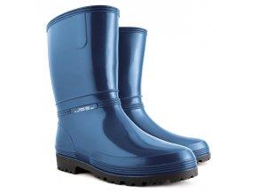 Dámske nízke gumáky Demar RAINNY 0050 A modrá