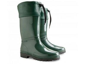 damske stahovacie gumaky demar rainny s 0051 b zelene