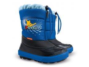 detska zimni obuv demar kenny 2 1532 na x snow modra