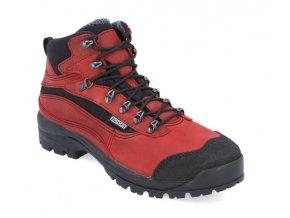 Dámska treková obuv Bighorn BIGHORN 0422 červená