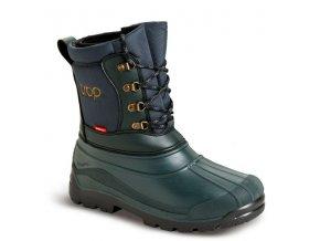 polovnicka zimna obuv demar trop 2 3814 zelena