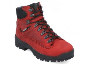 damska trekova obuv bighorn nevada 0722 cervena