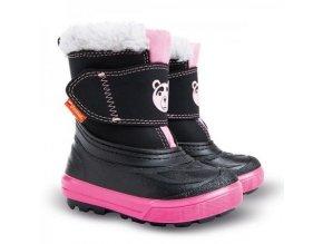 detska zimna obuv demar bear 1507 b ruzova