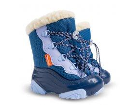 detske zimne snehule demar snowmar 4017 nc modrá