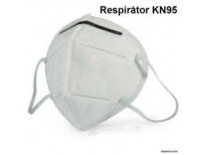 Respirátor KN95 - CE - 5 ks