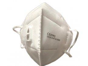 Respirátor FFP2 s ventilom - CE - 50 ks