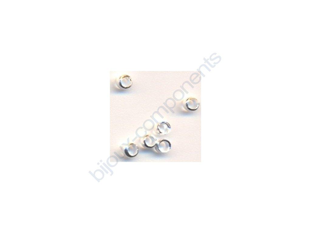 Zamačkávací rokajl, vnitřní průměr cca 1,8 mm