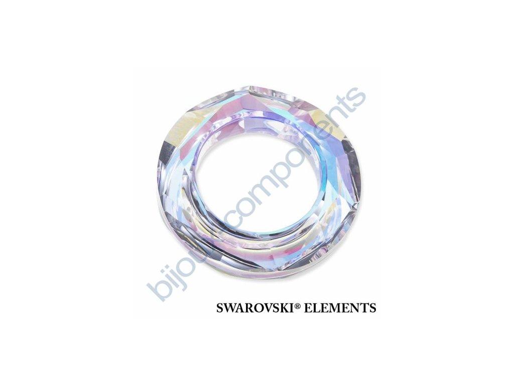 SWAROVSKI ELEMENTS Tvarovka - kroužek, crystal AB, 20mm