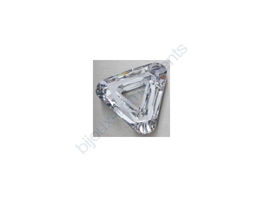 Swarovski tvarovka - trojúhelník, 14mm