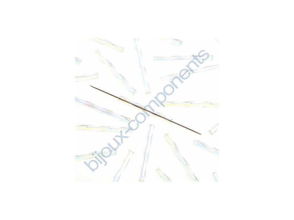 PRECIOSA tyčinky kroucené - krystal/růžový pokov
