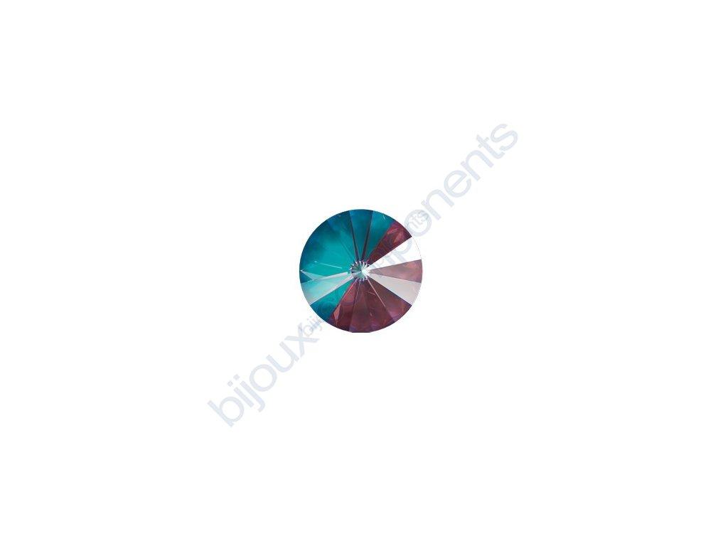 SWAROVSKI CRYSTALS kameny - Rivoli Chaton, crystal burgundy, 12mm