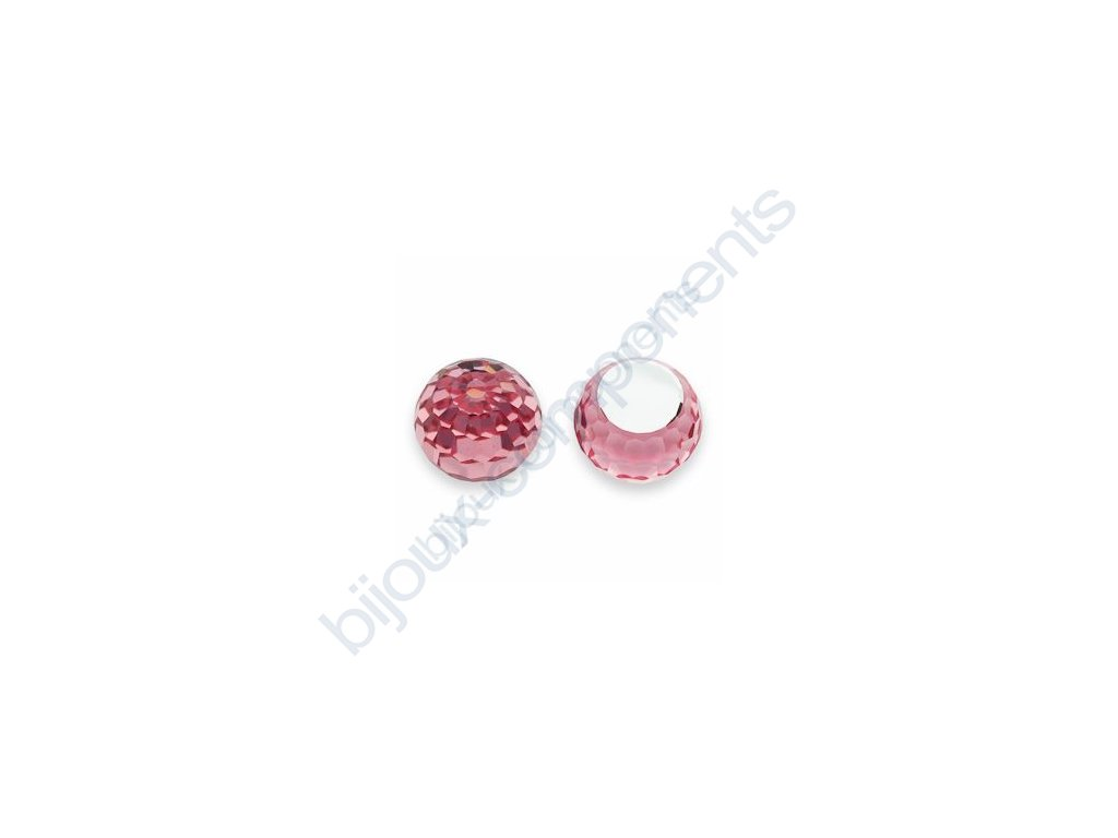 SWAROVSKI ELEMENTS Disco Ball, 4869 8mm light rose CAL´VZ´