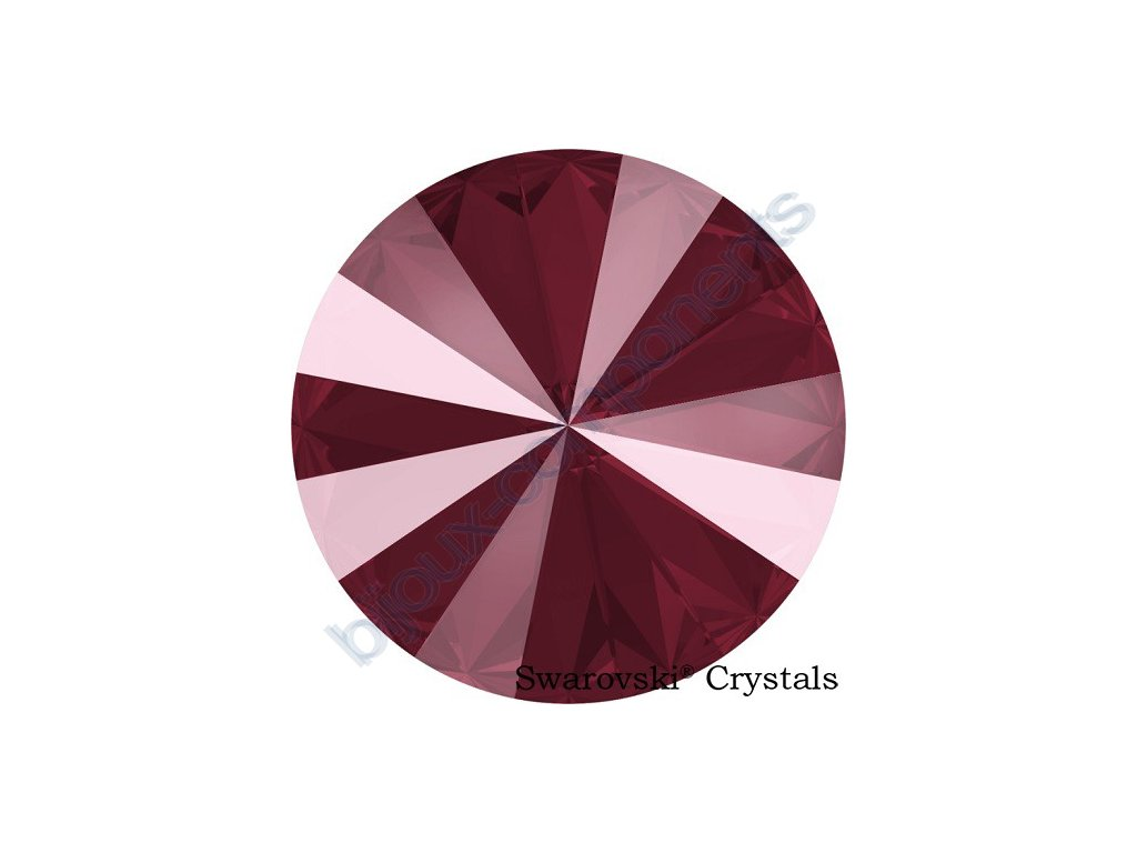 SWAROVSKI CRYSTALS rivoli - crystal dark red, 12mm