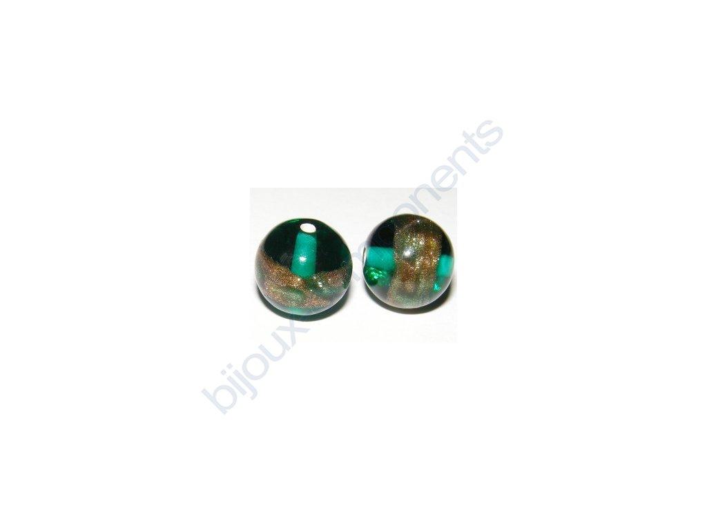 lampové korálky - ručně vinuté, cca 12mm