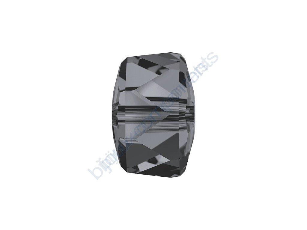 SWAROVSKI CRYSTALS přívěsek - RONDELLE, crystal silvernight, 8mm