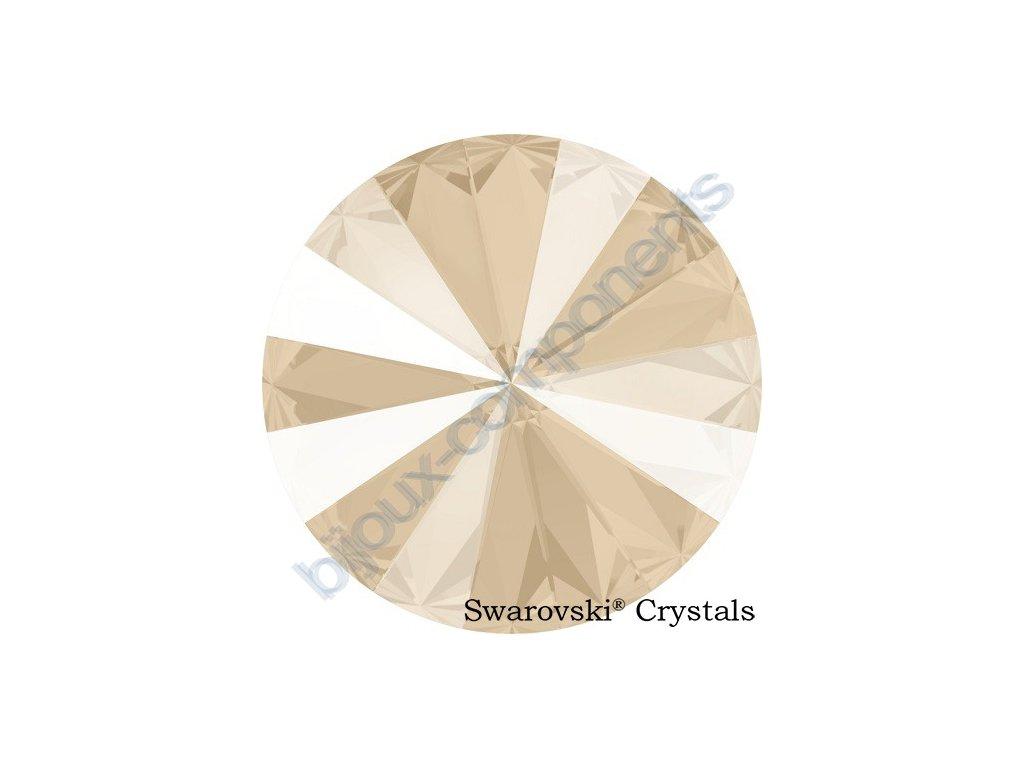 SWAROVSKI CRYSTALS rivoli - crystal ivory cream, 12mm