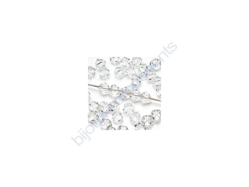SWAROVSKI ELEMENTS XILION sluníčko, crystal, 3mm